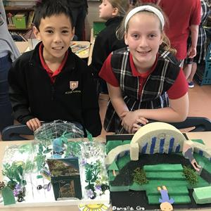 Third Grade West Side Students Connect Past to Present Through Community Project