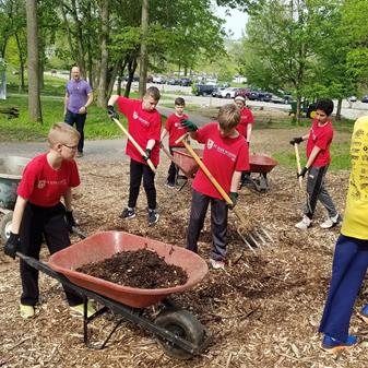 St Jude Students Give Back: Annual Day of Service