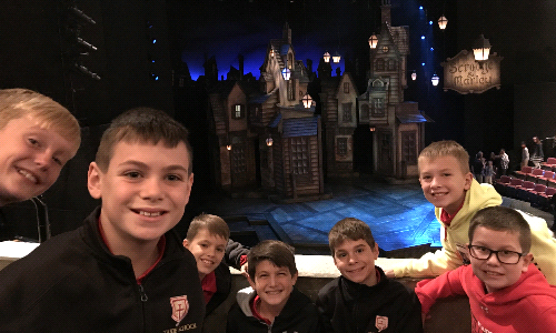 "St. Jude Fourth Graders Enjoy Classic Literature at ""A Christmas Carol"" play"